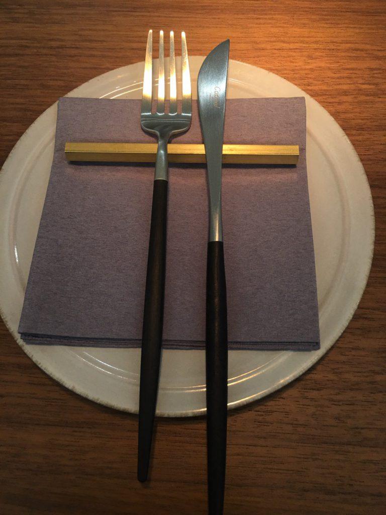 JOSEPHカフェのカトラリーセットはクチポール